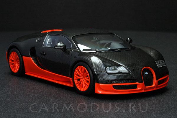 Bugatti Veyron Super Sport (2010) – MINICHAMPS 1:43