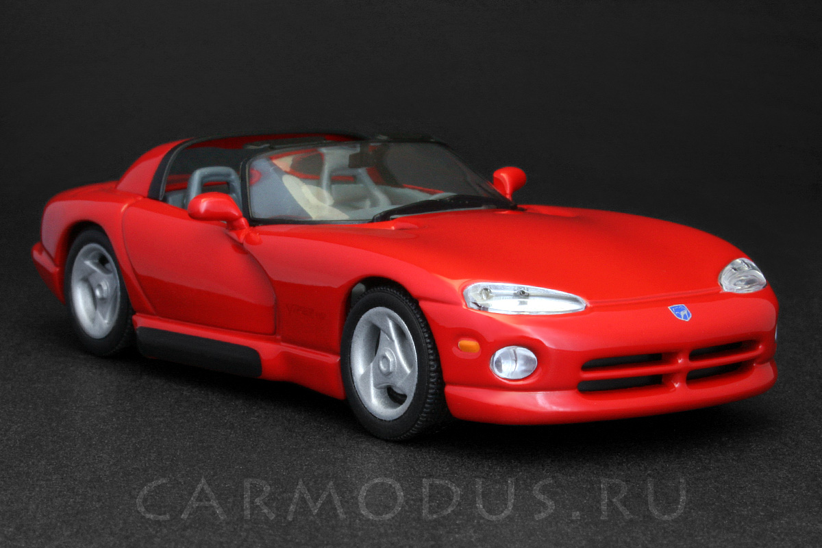 Dodge Viper RT/10 (1992) – MINICHAMPS 1:43 | масштабная