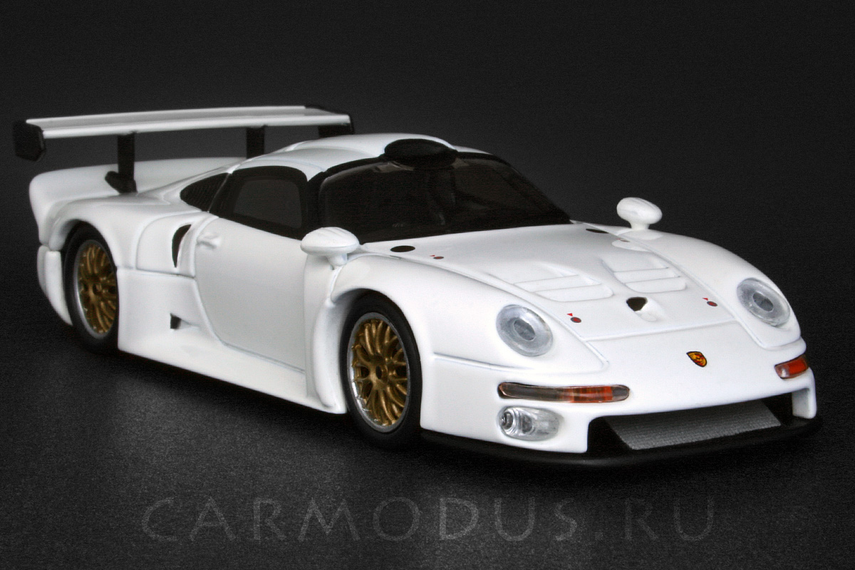 porsche 911 gt1 1996 minichamps 1 43. Black Bedroom Furniture Sets. Home Design Ideas
